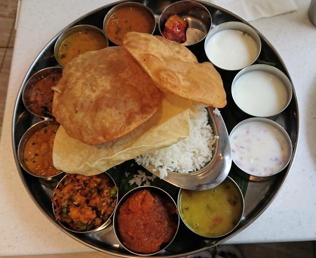 南インドカレー